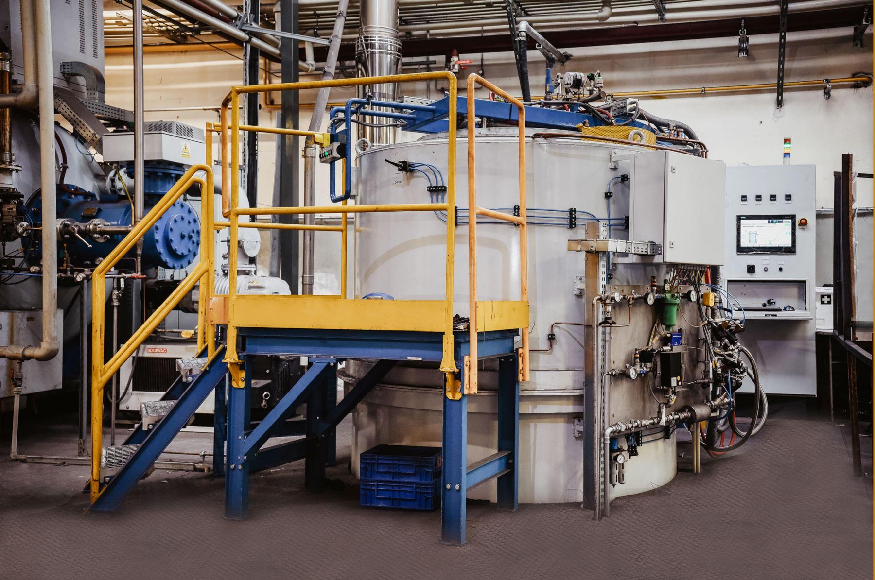 Harttech Piec wgłębny do azotowania